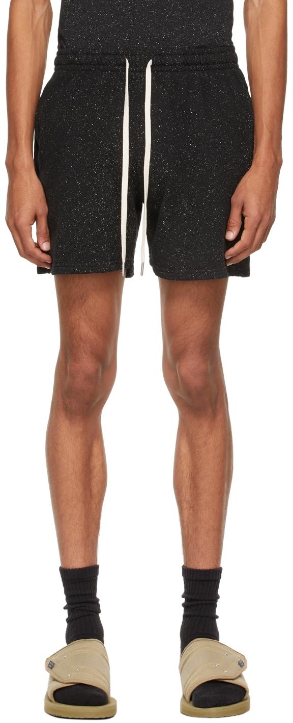 Black Salt Wash Court Shorts