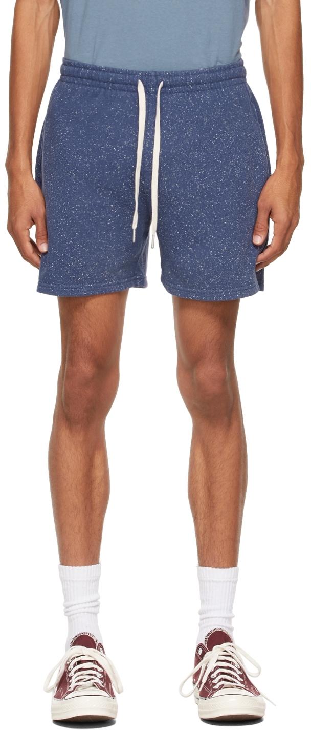Blue Salt Wash Court Shorts