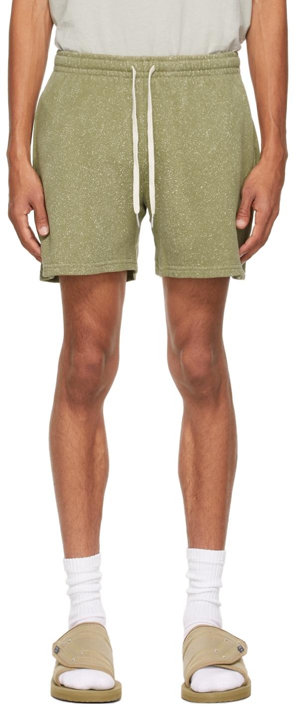Khaki Salt Wash Court Shorts