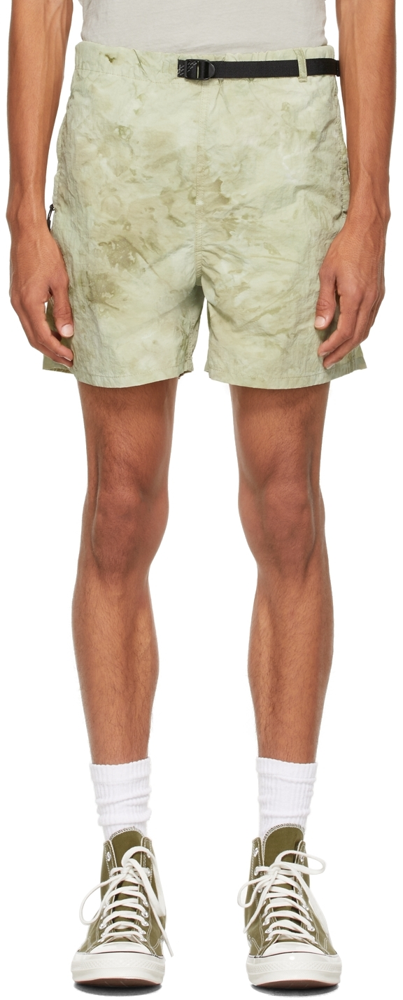 Green Trail Shorts
