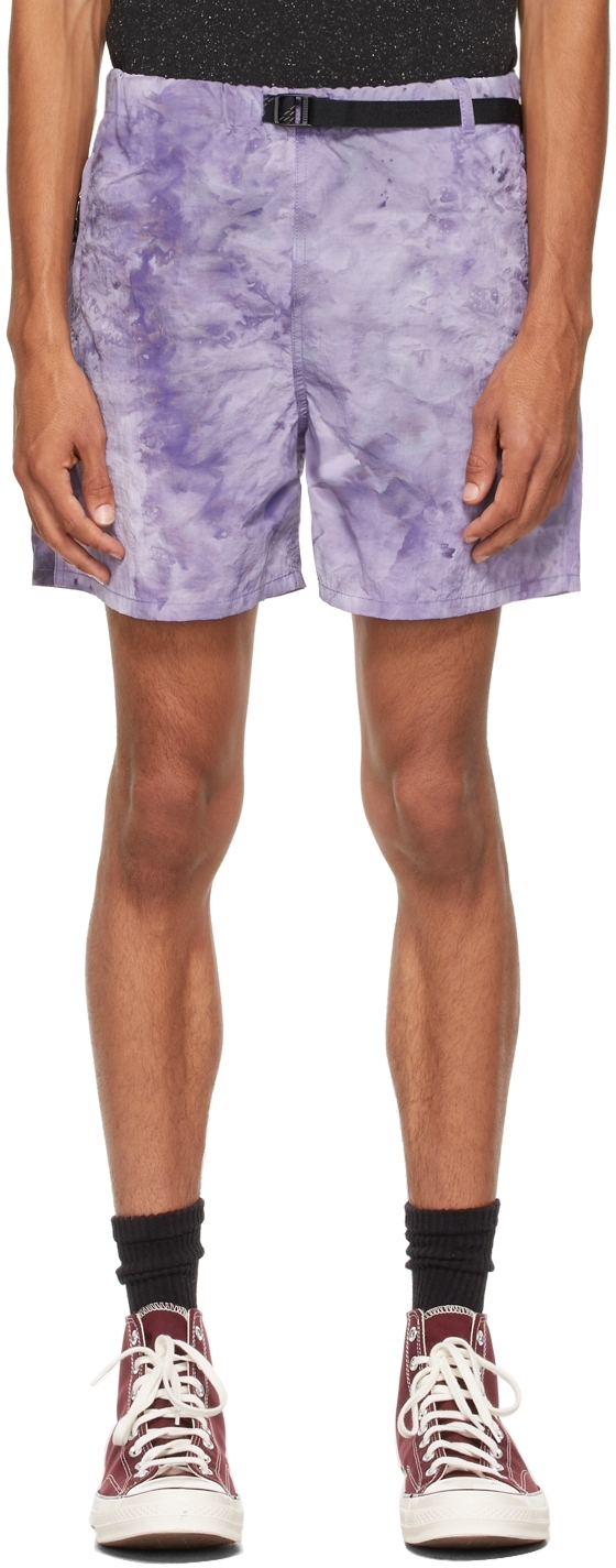 Purple Trail Shorts