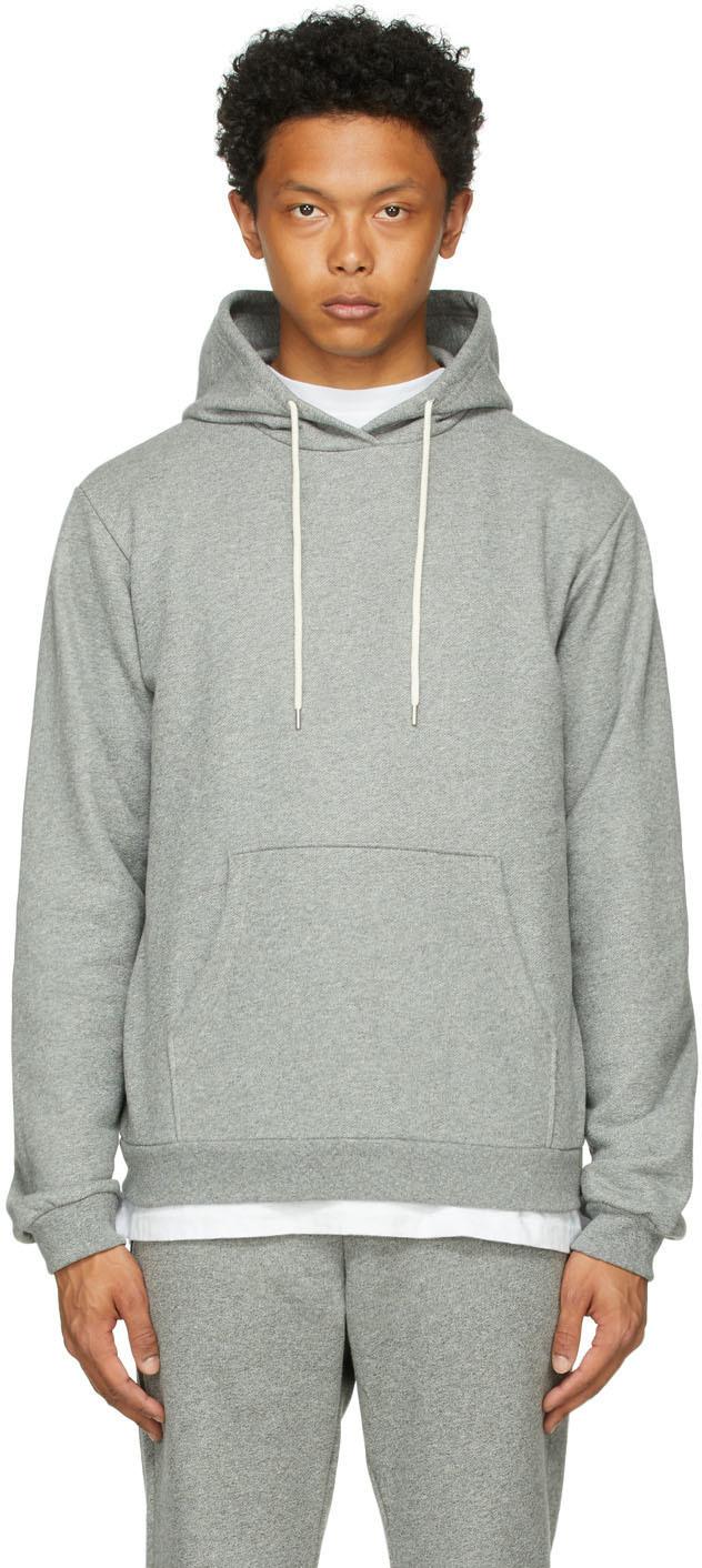 Grey Beach Hoodie