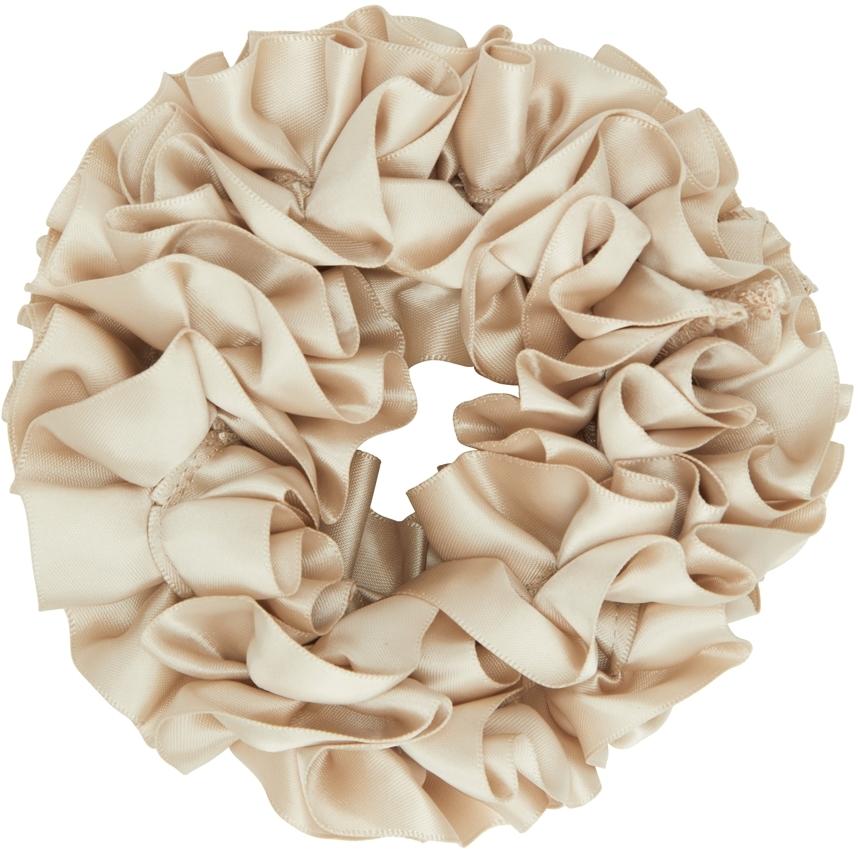 Beige Carnation Scrunchie