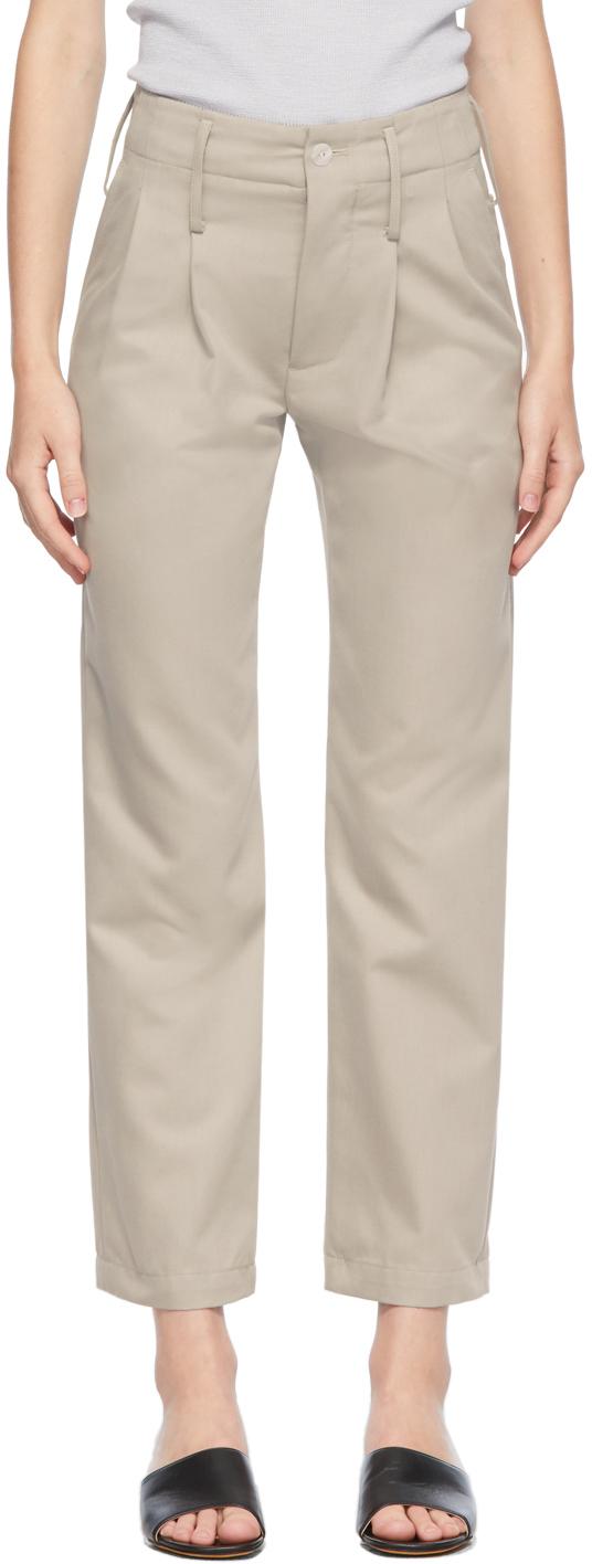 Grey Abdou Trousers