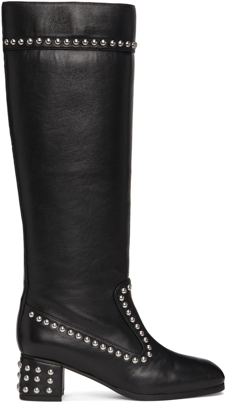 Black Kiki Tall Boots