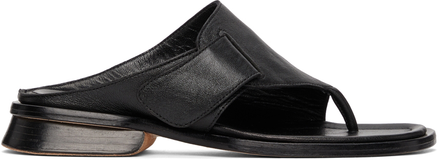 Black Tupelo Sandals