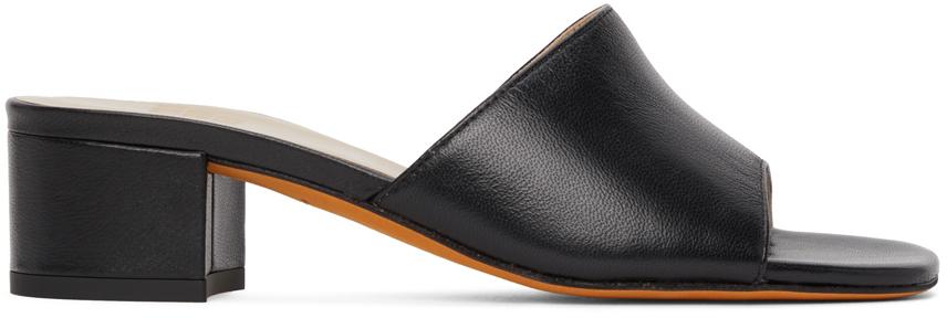 Black Agatha Sandals