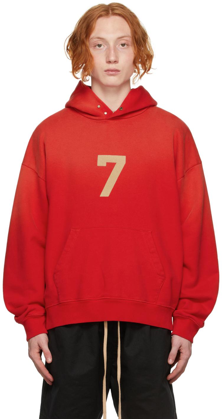Red '7' Hoodie