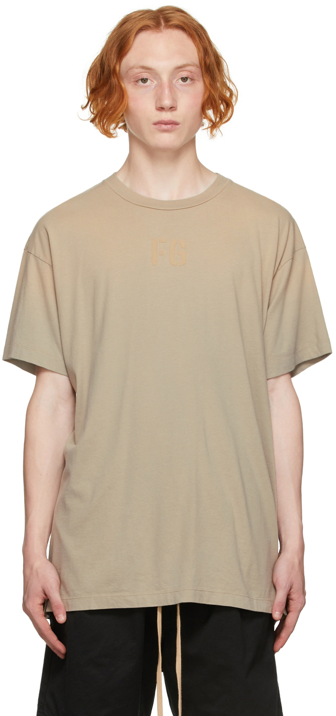 Beige 'FG' T-Shirt