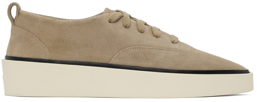 Taupe Suede 101 Sneakers