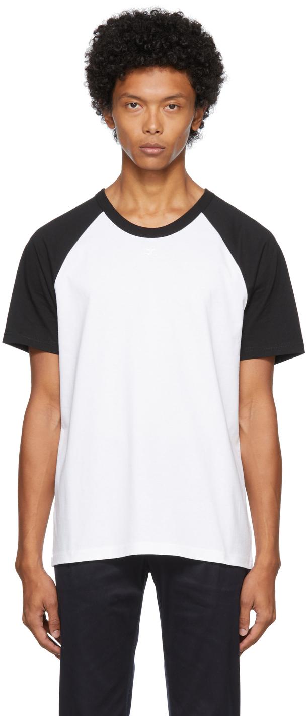 White & Black Logo T-Shirt