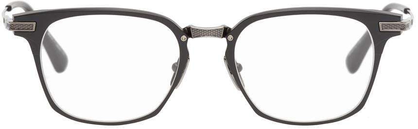 Black & Silver Union Optical Glasses