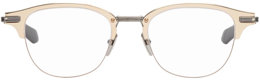 Gold & Gunmetal Iambic Optical Glasses