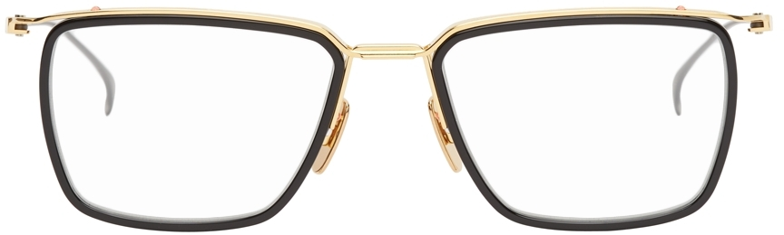 Black & Gold Schema-One Optical Glasses