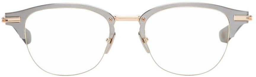Silver & Gold Iambic Optical Glasses