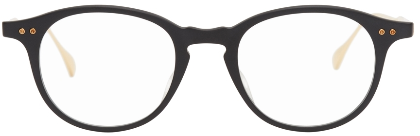Black & Gold Ash Optical Glasses