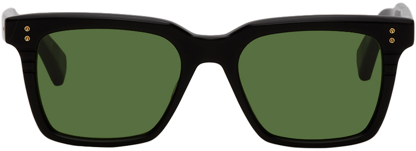 Black & Green Sequoia Sunglasses