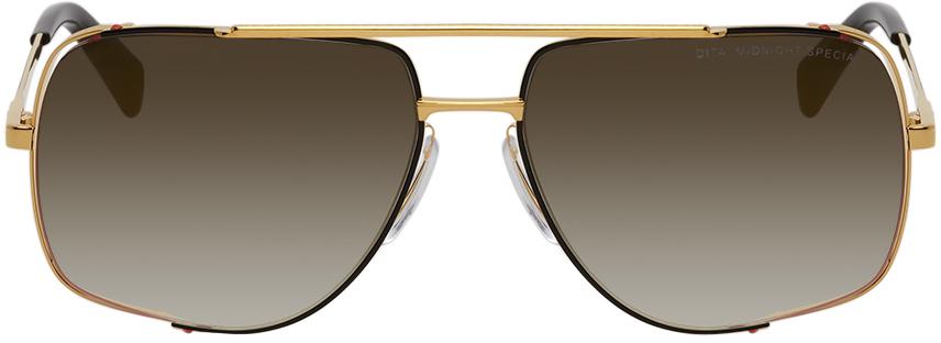 Gold & Grey Midnight Special Sunglasses