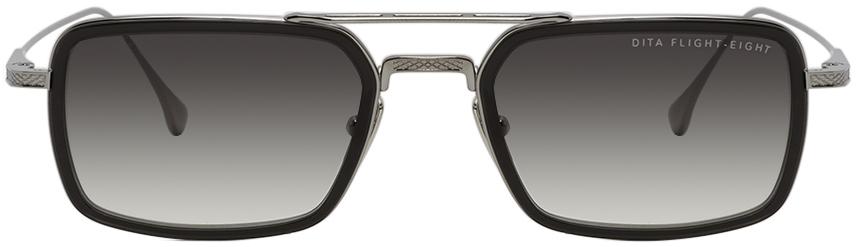 Gunmetal & Black Flight-Eight Sunglasses