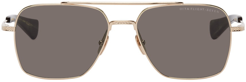 Gold Flight Seven Sunglasses