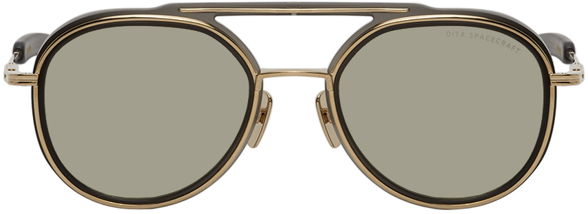 Gold & Grey Spacecraft Sunglasses
