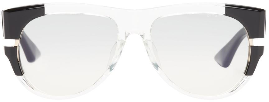 Black & Transparent Terron Sunglasses