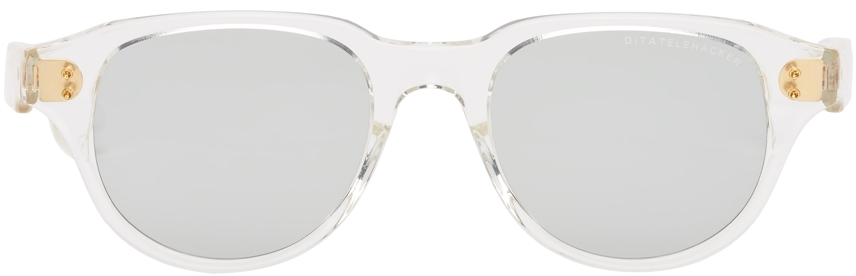 Transparent & Grey Telehacker Sunglasses