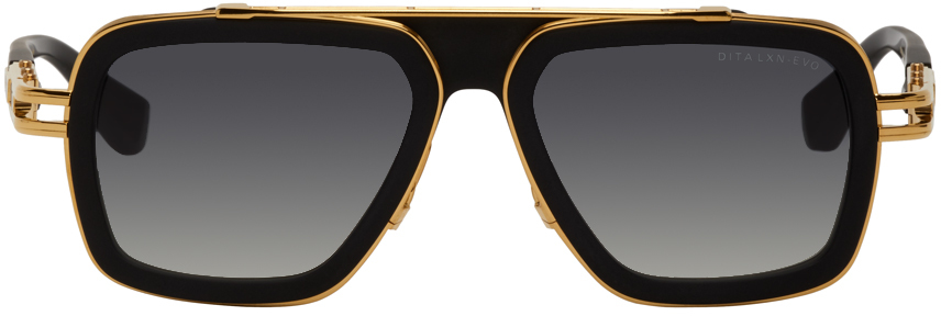 Black & Gold LXN-Evo Sunglasses