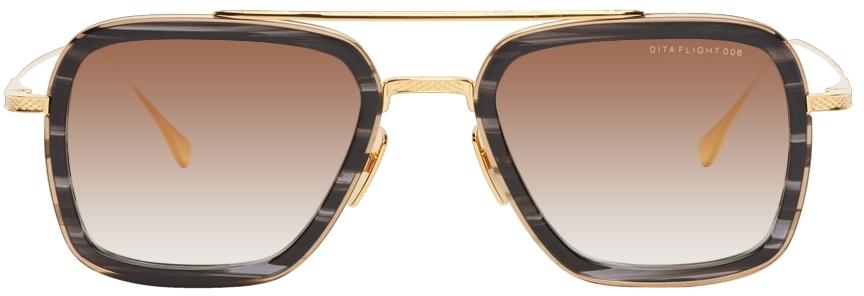 Black & Gold Flight.006 Sunglasses
