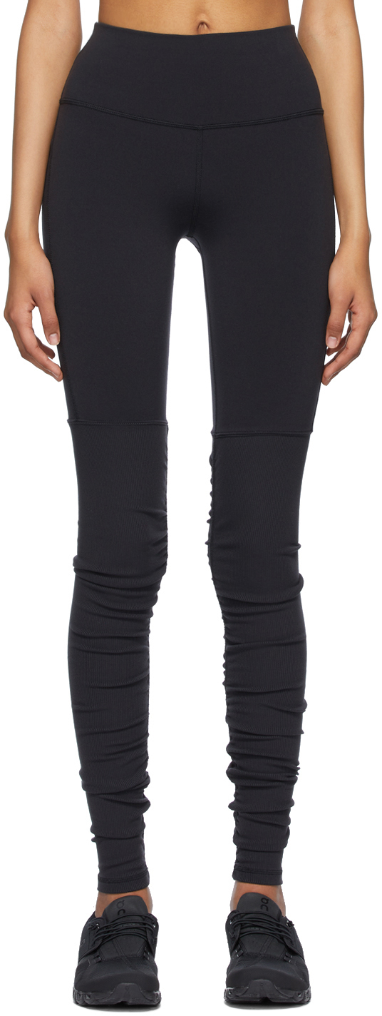 Black High-Waist Goddess Leggings