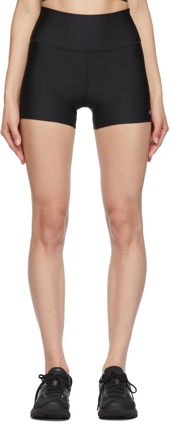 Black High-Waist Airlift Sport Shorts