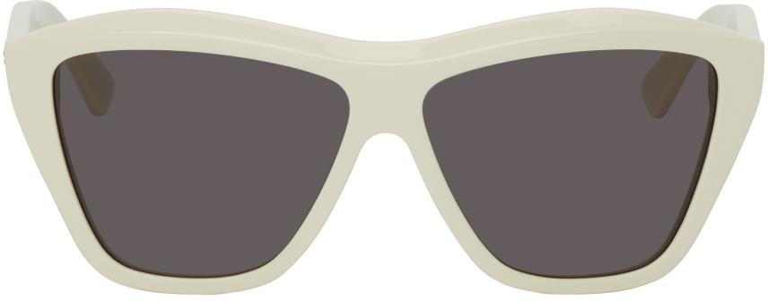 Off-White Shiny Sunglasses