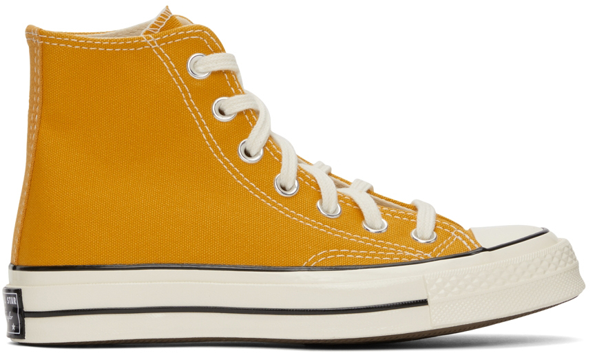 Yellow Chuck 70 High Sneakers