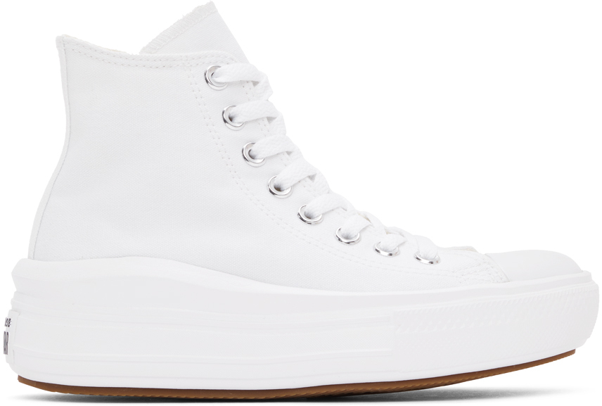 White Chuck Taylor All Star Move Hi Sneakers