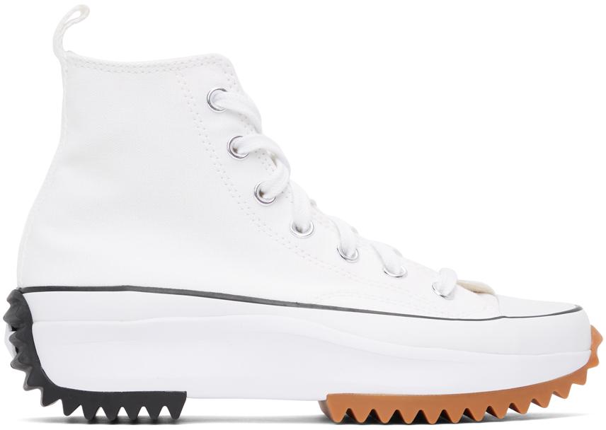 White Run Star Hike Hi Sneakers