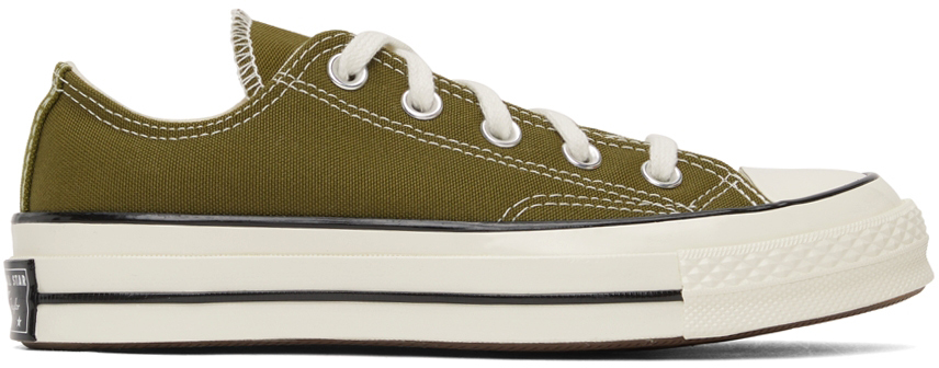 Green Chuck 70 Low Sneakers