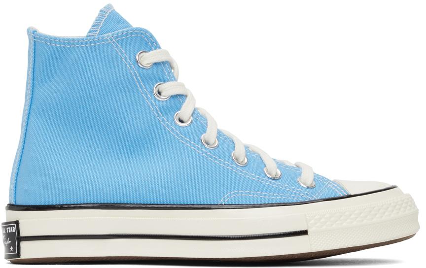 Blue Chuck 70 Hi Sneakers