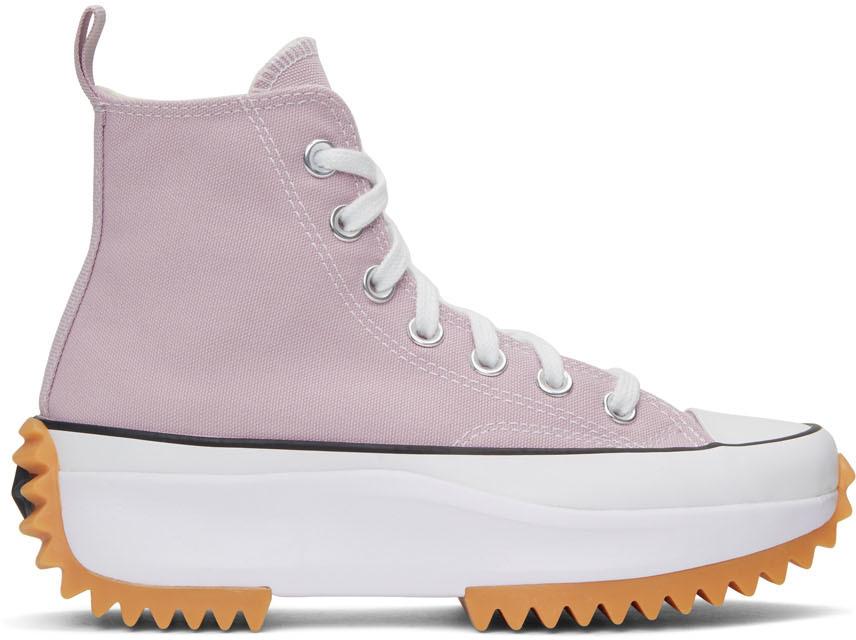 Pink Run Star Hike Hi Sneakers