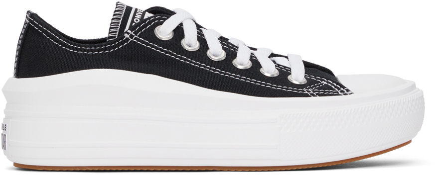 Black Chuck Taylor All Star Move Ox Sneakers