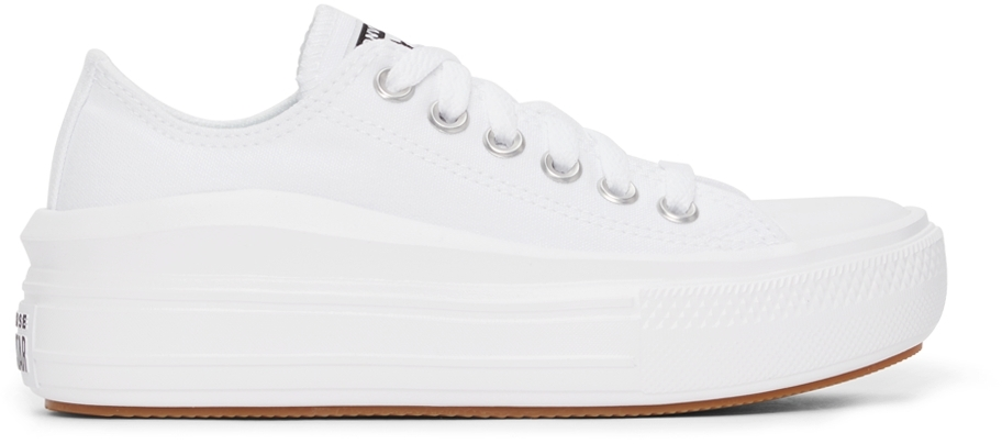 White Chuck Taylor All Star Move Ox Sneakers