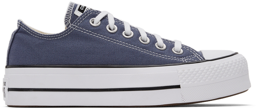 Grey Chuck Taylor All Star Lift Low Sneakers