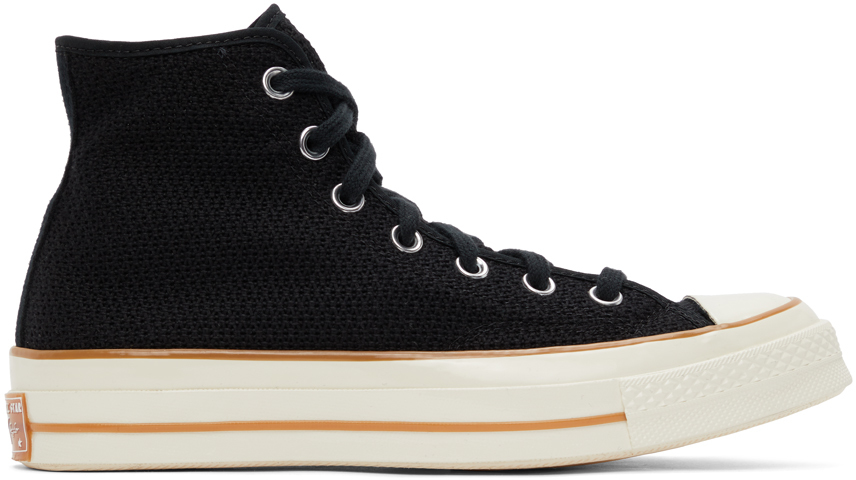 Black Breathable Chuck 70 High Sneakers