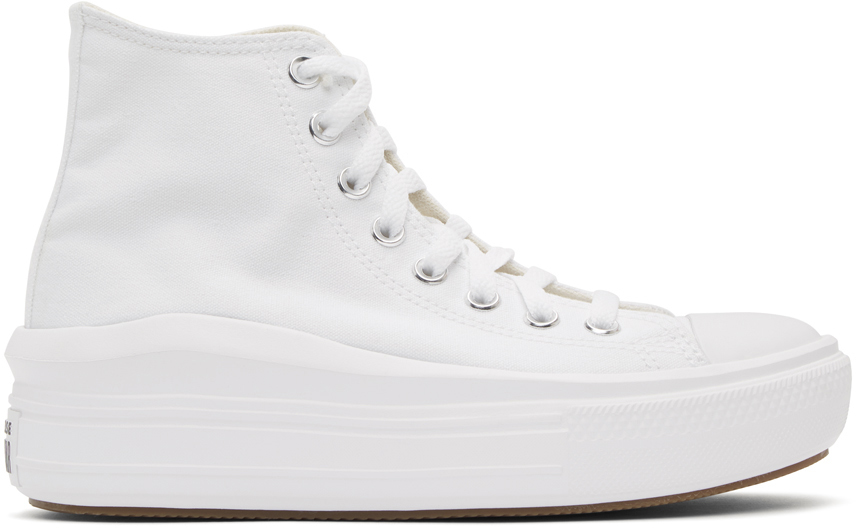 White All Star Move High-Top Sneakers