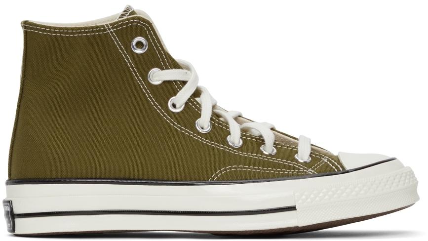 Green Chuck 70 Hi Sneakers