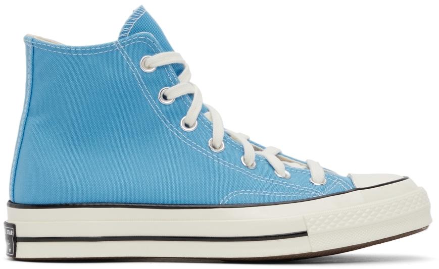Blue Chuck 70 High Sneakers