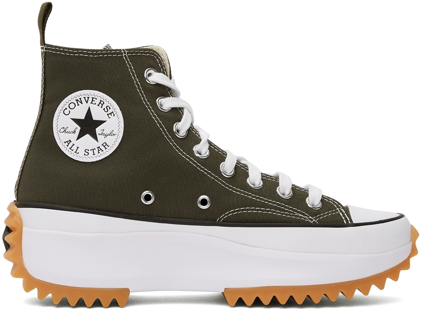 Green Run Star Hike Hi Sneakers
