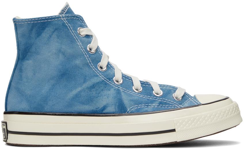 Blue Summer Daze Chuck 70 High Sneakers