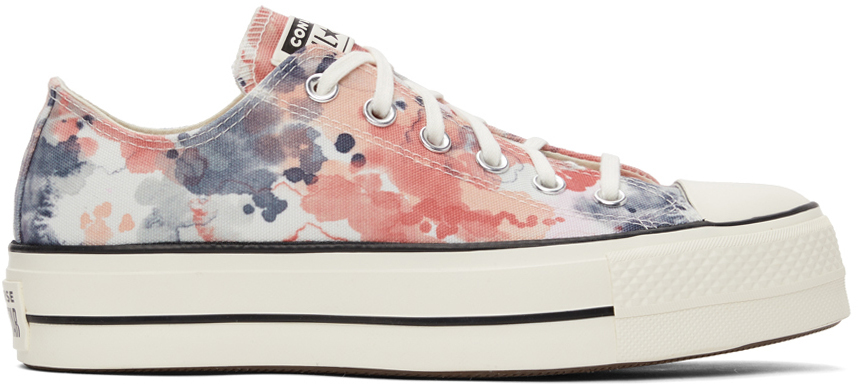 Multicolor Chuck Taylor All Star Lift Low Sneakers