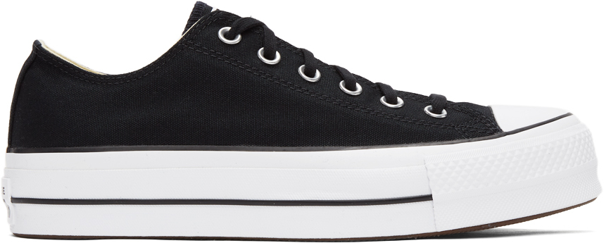 Black Chuck Taylor All Star Lift Low Sneakers