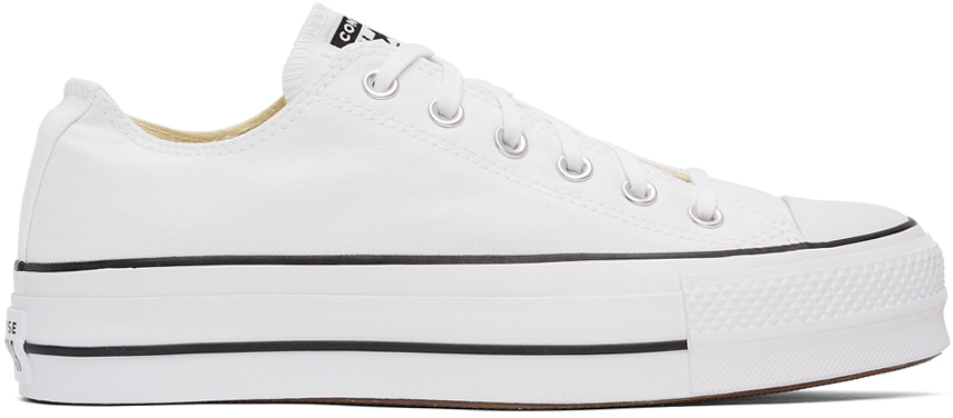 White Chuck Taylor All Star Lift Low Sneakers